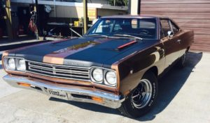 1969 Road Runner Jamie's Transmission Service